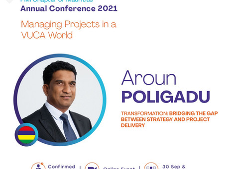 Join Aroun Poligadu and other global speakers at our Annual Conference 2021