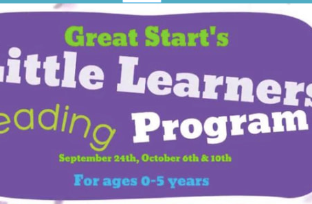Little Learners Reading Program by Great Start Collaborative