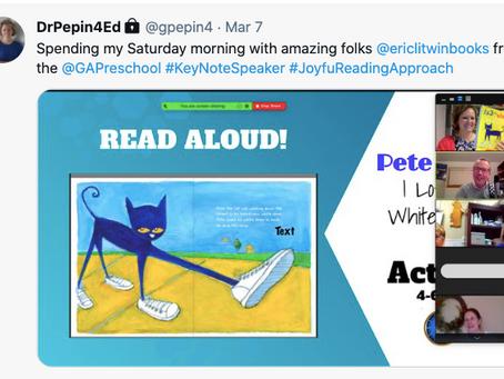 Spending the morning with Georgia Preschool Association! #JoyfulReadingApproach