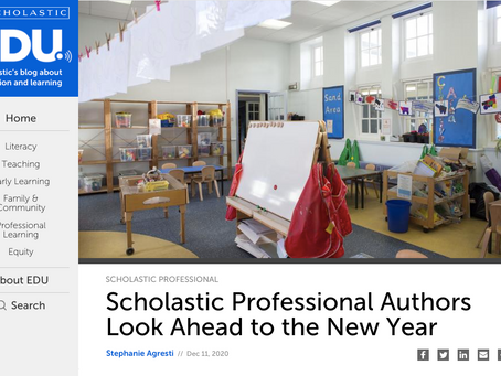 Scholastic Professional Authors Look Ahead to the New Year