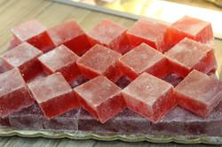 Десерт клубничный на пектине