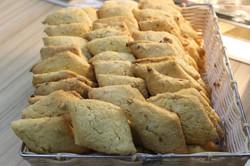 Печенье постное с курагой