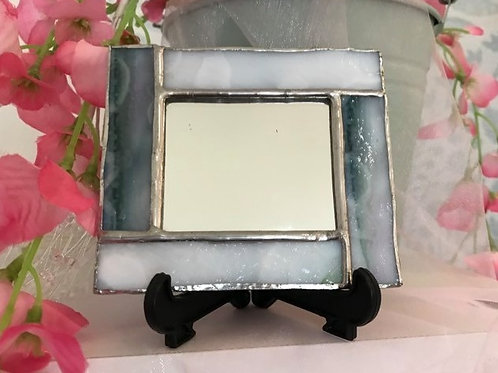 Stained Glass Cosmetic Mirror