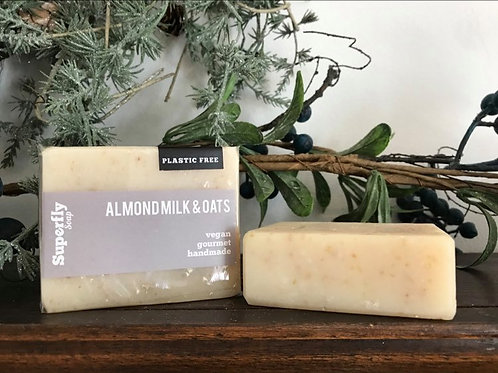 Almond Milk and Oats Soap