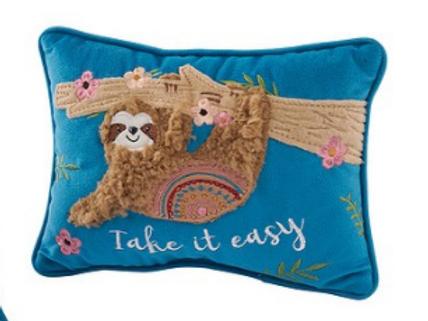 Small Sloth Cushion