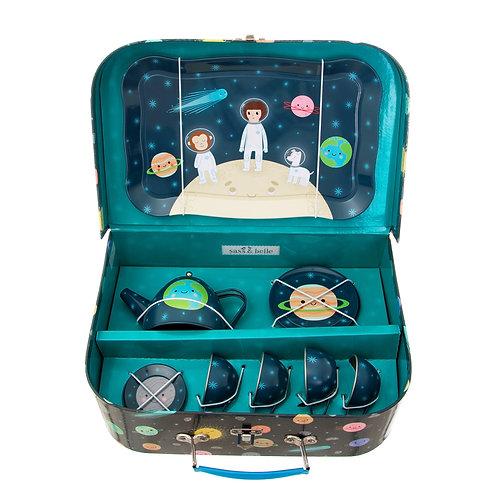 Space Explorer Kid's Tea Set