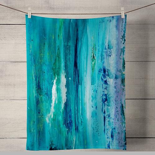 Seascape Tea Towel