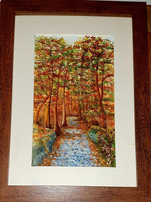 Autumn Walk by Pamela Brown