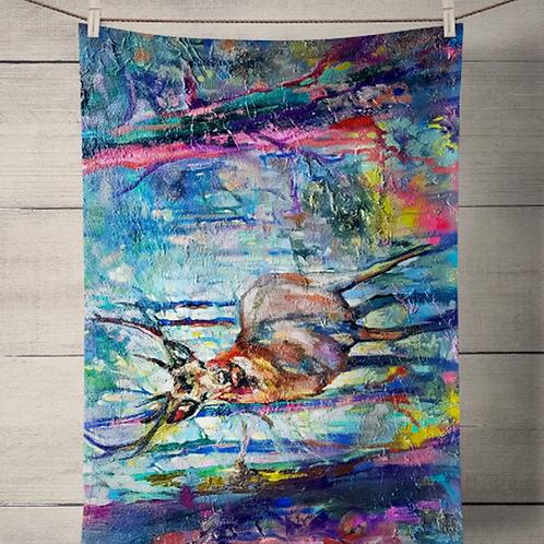 Mystic Stag Tea Towel