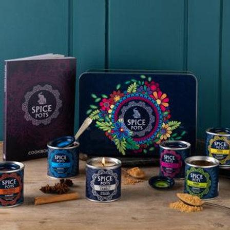 Luxury Spice Pots Gift Set