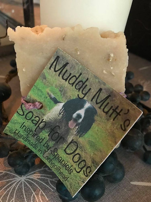 Muddy Mutt's Soap for Dogs with Oils, Cocoal Butter & Wholemeal Oats