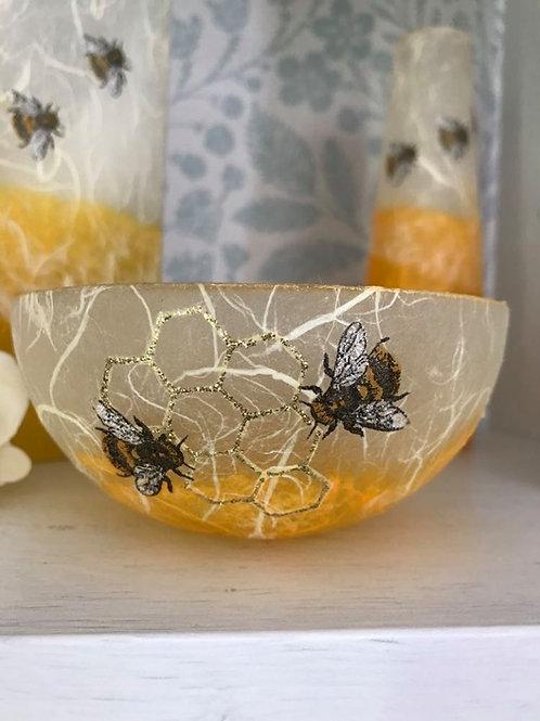 Bee Decorative Straw Silk Bowls