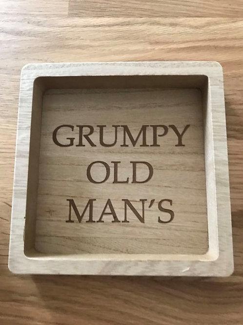 Grumpy Old Man's Coin Tray