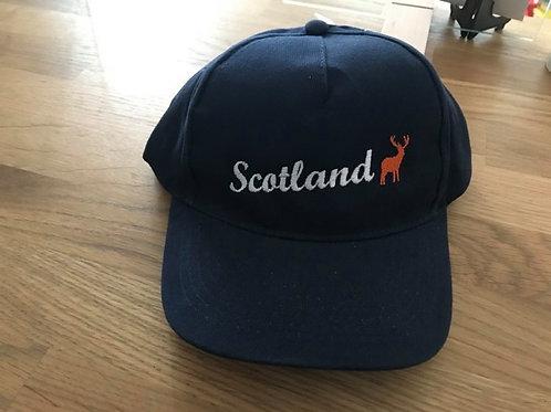 Sonsie Face Blue Scotland Cap