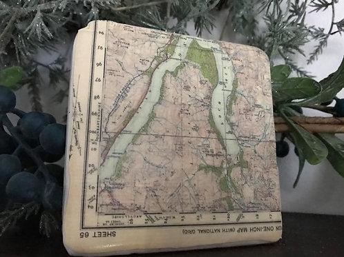 Loch Goil Map Coaster