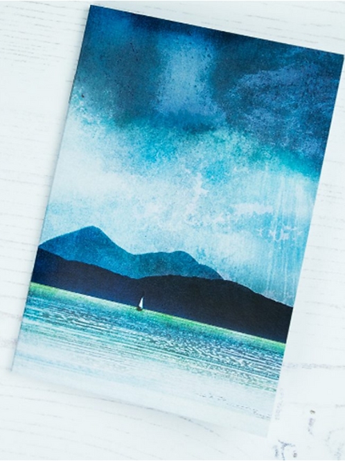 Cath Waters Inner Sound Skye and Scalpay Notepad