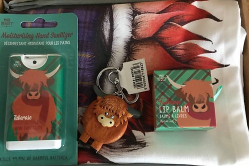 Highland Coo Letterbox Christmas Gift