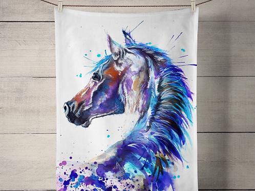 Splatter Stallion Tea Towel
