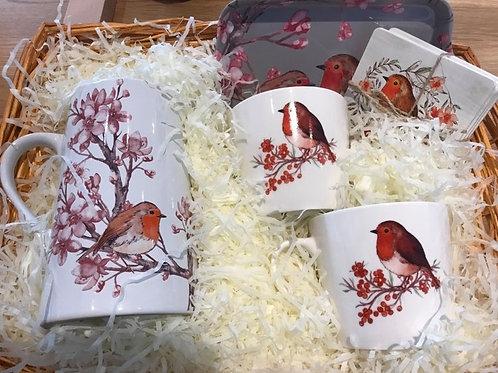 Christmas Robin Hamper Set