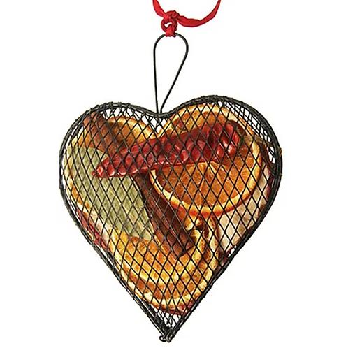 Jormaepourri Metal Mesh Heart