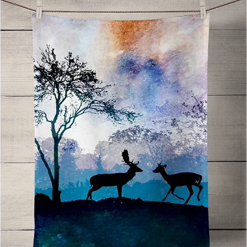 Deer Tea Towel