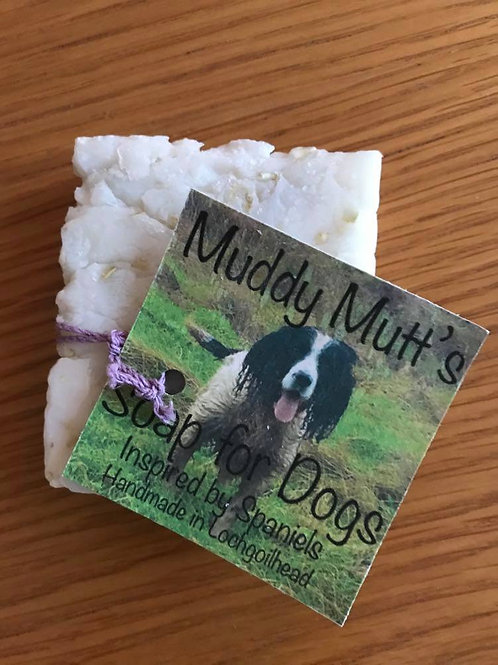 Muddy Mutt's Soap for Dogs with Coconut Oil & Wholemeal Oats