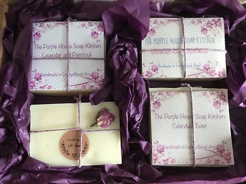 The Purple House Soap Kitchen Soap Gift Box