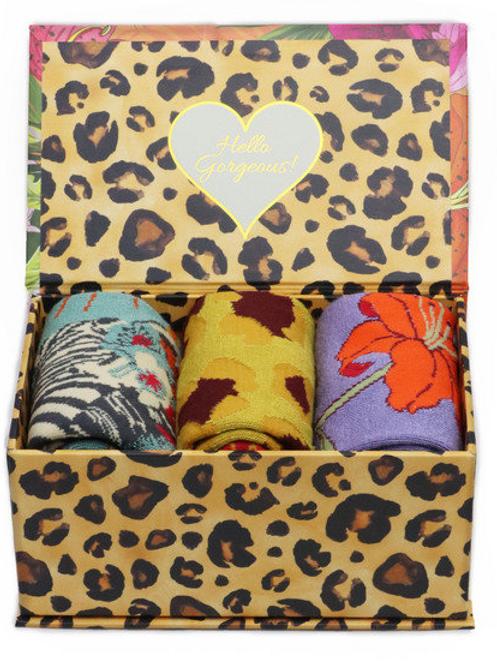 Powder Ladies Sock Gift Box - Blooming Jungle