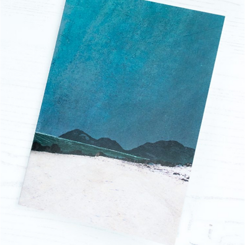 Cath Waters Harris from Coral Beach Skye notepad