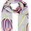 Thumbnail: Bluebell Printed Scarf by Powder