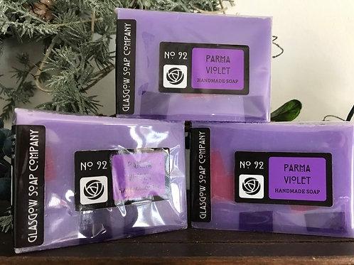 Set of 3 Parma Violet Soaps