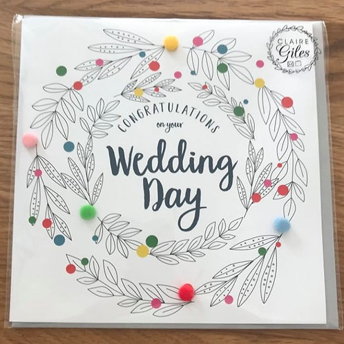 Congratulations of your Wedding Day Card
