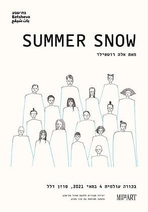 פוסטר Summer Snow/ Summer Snow Poster