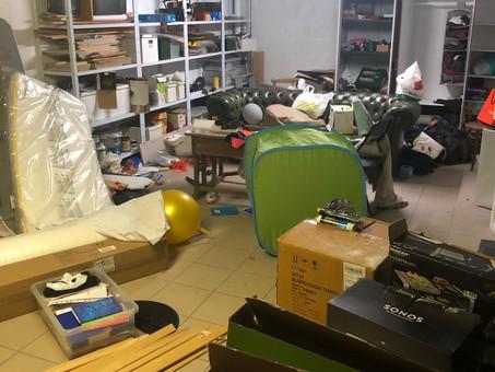 Opération désencombrer son garage!