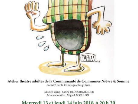 Sortez vos pantoufles : Alpha-Bêêê est de retour sur scène les 13 et 14 juin 2018 à Amiens !
