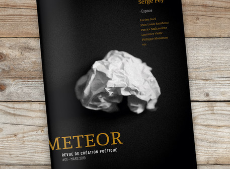 Lancement de la revue METEOR / 8 mars 2019