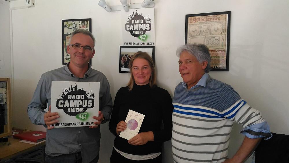 Sébastien Kwiek, Emilie Gévart et Ramiro Oviedo
