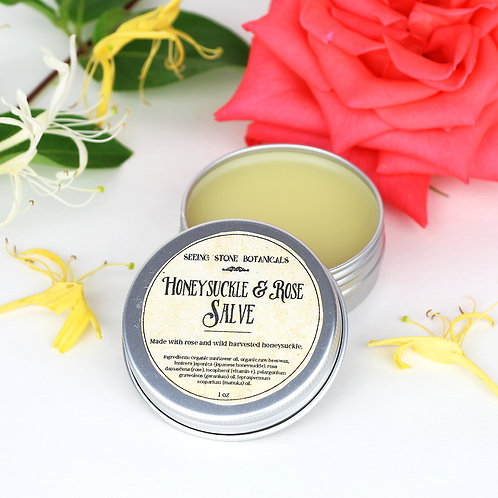 Honeysuckle & Rose Salve