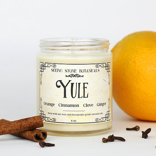 Yule - Essential Oil Candle