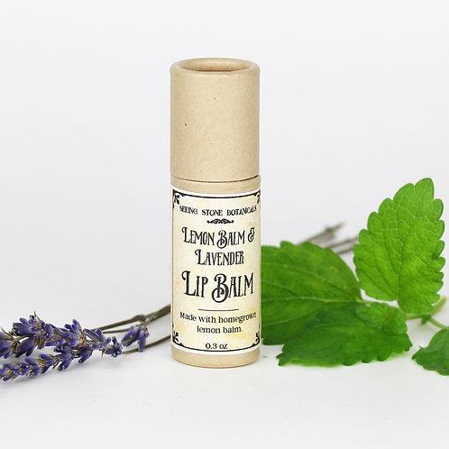 Lip Balm - Lemon Balm & Lavender