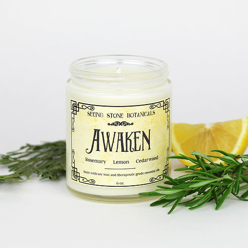 Awaken - Essential Oil Candle