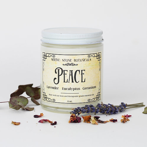 Peace - Essential Oil Candle