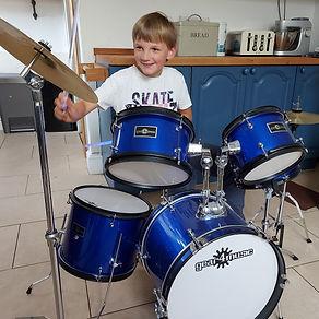 Rufus drumming.jpg