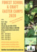 Forest School and Craft Easter camp 2020
