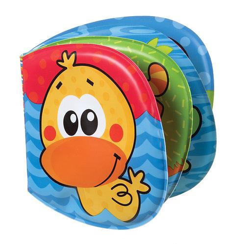 Игрушка для игр в ванной Книжка-пищалка Playgro