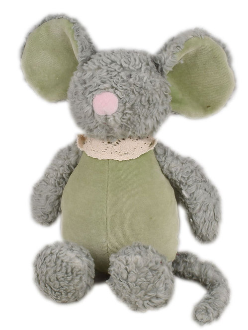 Мягконабивная игрушка Мышка из органического хлопка Tikiri
