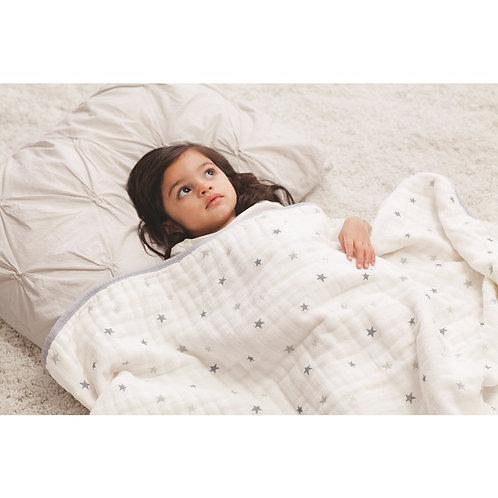 Одеяло из муслинового хлопка Grey Twinkle Aden Anais