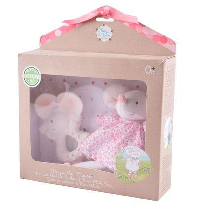 Подарочный набор Meiya: прорезыватель и мягкая игрушка Meiya&Alvin