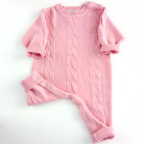 Комбинезон вязаный Trenza Pink Dusty Miller