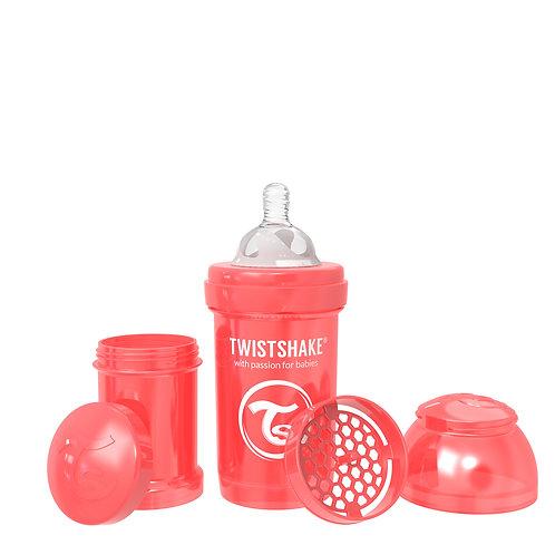 Антиколиковая бутылочка 180 мл Коллекция Жемчужная Twistshake